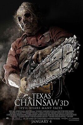 AU22.22 • Buy Posters USA - Texas Chainsaw 3D Movie Poster Glossy Finish - PRM719