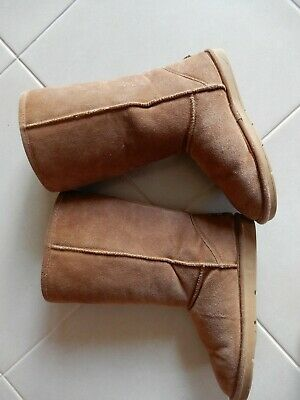 AU30 • Buy Australian Ugg Boots Sheepskin Tall Womens Size 39 Like New Chestnut Tan