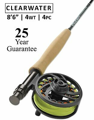 $ CDN276.91 • Buy Orvis Clearwater 4wt Fly Rod 8'6  - 25 Year Warranty - Free Shipping