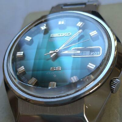 $ CDN299.52 • Buy Vintage Seiko 5 Actus SS 6106-7690 Automatic 25Jewels Green Dial Good Accuracy