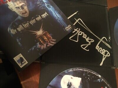 Hellraiser Clive Barker Puzzle Box DVD Signed • 70£
