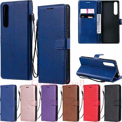 AU8.88 • Buy For Sony Xperia 5 10 Ii 1 Ii L4 L3 XZ3 XA2 Wallet Card Holder Leather Case Cover