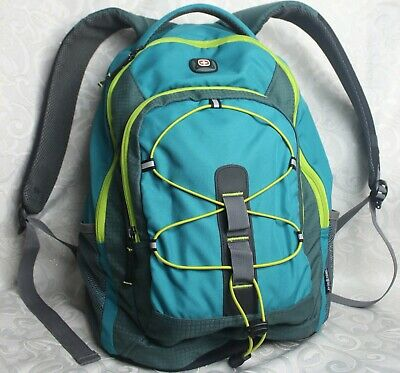 Swiss Gear Turquoise & Lime Green Back Pack • 25.03£