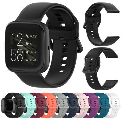 AU4.61 • Buy Sport Silicone Band Strap Replacement For Fitbit Versa 2/Versa/Versa Lite/Blaze