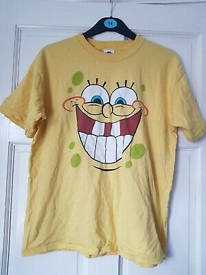 SpongeBob Big Smile Kids T-shirt - Universal Studios Orlando - Youth XL • 2.84£