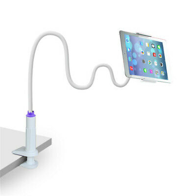 360 Gooseneck Table Bed Clamp Stand Holder Mount For IPad Tablet Flexible Arm UK • 0.15£