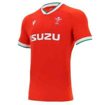 New 2020-21 Wales Home/away Rugby Jersey Shirt S-5XL • 23.99£