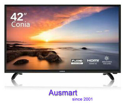 AU219 • Buy CONIA LED TV 42'' Inches FHD Flat Screen HDMI Commercial Display 1080pTelevision