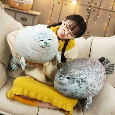 Angry Seal Pillow Plush Seal Cute Animal Toy Seal Pillow Gift Kids Giant J6N4 • 13.39£