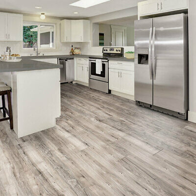 Golden Select Grey Walnut Splash Shield AC5 Laminate Flooring With Foam Underlay • 28.79£