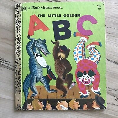 £6.39 • Buy Vintage Little Golden Books ABCs