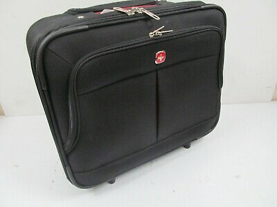 Wenger 17 Inch 2-Piece Business Wheeled Laptop Briefcase, Case In Black • 29.99£