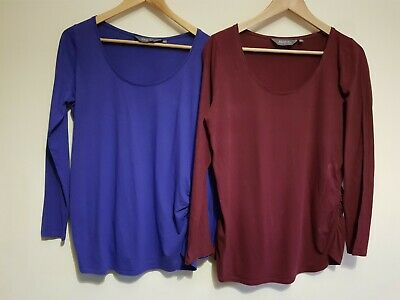 New Look Maternity Size 14 Long Sleeve Top Bundle (2 Items) • 2.50£