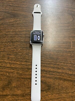 $ CDN198.20 • Buy Apple Watch Series 3 LTE - Silver With Sport Band (GPS + Cellular) - Please Read