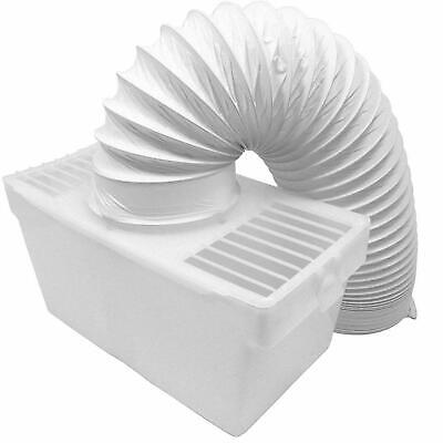 £9.99 • Buy Universal Tumble Dryer Condenser Air Vent Kit White Indoor Box With 1.2m Hose