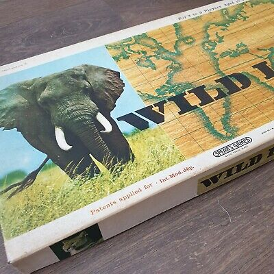 Spears Games Wild Life Vintage Board Game Early Edition Incomplete • 5£
