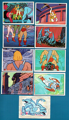 $19.99 • Buy Lot Of 9 Vintage Masters Of The Universe He-man Panini MATTEL Stickers 1983