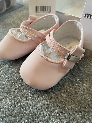 Mayoral Baby Shoes Mary Jane Newborn 17 Pink • 1.40£