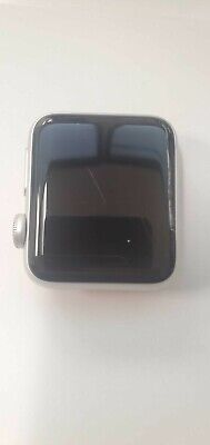$ CDN210.53 • Buy Apple Watch Series 3 38mm Cellular-Silver- White Band CRACKED SCREEN-WORKING