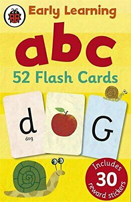 Ladybird Early Learning: ABC Flash Cards - Ladybird Early Learning: • 7.53£