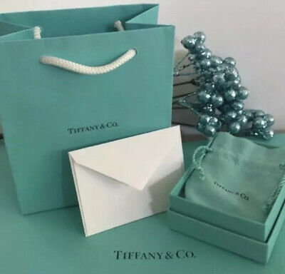 £36.04 • Buy Tiffany Co. Pouch Bracelet Necklace Package AntiTarnish Gift READY WRAPPING