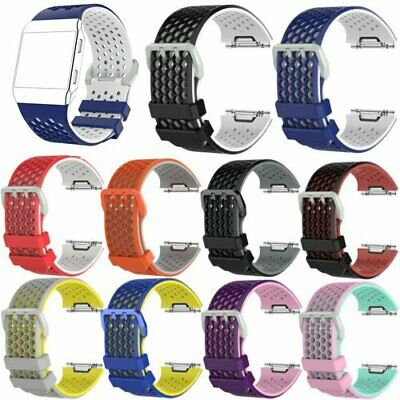 $ CDN5.96 • Buy Silicone Wrist Strap For Fitbit Ionic Smart Watch Band Breathable Replacement #