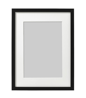 IKEA Ribba Picture Frame Square Photo Display Black Different Sizes • 14.99£