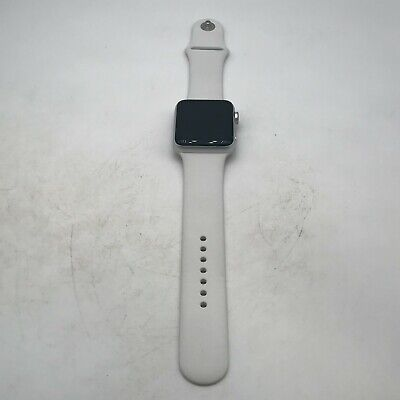 $ CDN217.09 • Buy Apple Watch Series 3 (GPS) Silver Sport 42mm W/ White Sport Good Condition