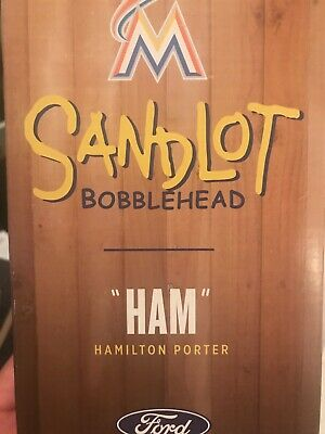 $ CDN22.84 • Buy The Sandlot Ham Porter The Great Hambino Bobblehead Miami Marlins MLB SGA NIB