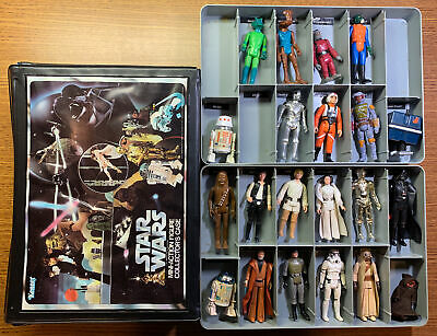 $ CDN300.73 • Buy Vintage Star Wars Vinyl Case With The First 21 Action Figures By Kenner