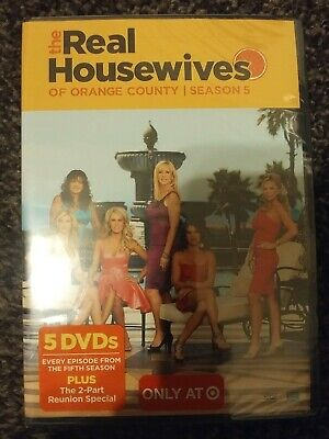£30.76 • Buy The Real Housewives Of Orange County: Season 5 - 2011 5 DVD Set - New Sealed