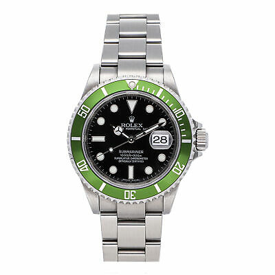 $ CDN23323.67 • Buy Rolex Submariner Date Kermit Auto 40mm Steel Men Oyster Bracelet Watch 16610LV