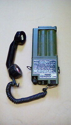 Racal Field Telephone Assy Uk Ptc404, Sor, Nsn 5805 99 658 2428 • 19.99£