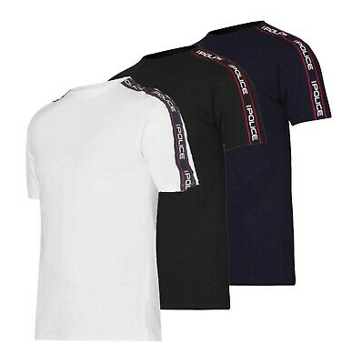 £14.99 • Buy Mens 883 Police Short Sleeves Casual Logo Crew Neck T Shirt Sizes From S To XXL