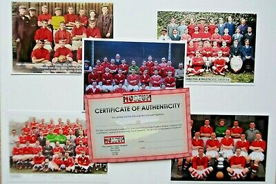 £5 • Buy Charlton Athletic Football Postcards Set Of 5 Colourised Team Pictures