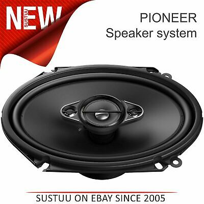 £57.62 • Buy Pioneer 4-Way Coaxial Car Audio Speakers 6  X 8  Sound System 350W Max Power New