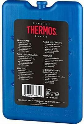 Thermos Freeze Board Ice Pack Block 200g For Cool Bag Chill Box Cooler • 3.05£
