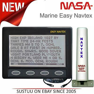 NASA Marine Clipper Easy Navtex With Series 2 Antenna & Cable|12V|For Boats • 270.31£