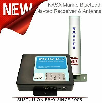 NASA Marine BT3 Bluetooth Navtex Recceiver With Marine Series 2 Antenna - BT3-S2 • 146.56£