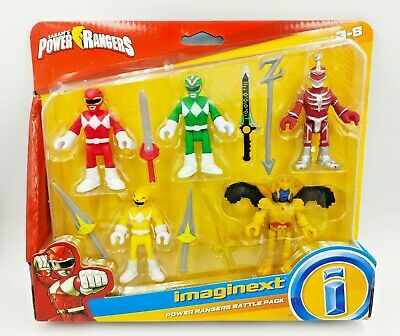 £34.99 • Buy New Fisher-Price Power Rangers Battle Pack Imaginext 5 Figures Gifts Toy