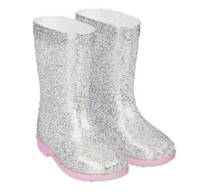 £8.95 • Buy  MOTHERCARE Girls Wellies Baby Pink Sparkly Rubber Wellington Boots Waterproof