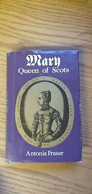 A Vintage Mary Queen Of Scots Book By Antonia Fraser • 14£