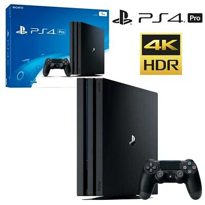 AU550 • Buy BRAND NEW Sony PlayStation 4 PS4 Pro Jet Black 1TB Console UNOPENED&EXPRESS POST