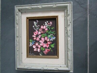 $ CDN95 • Buy DORR (Esther Dorr) Listed Canadian Artist Oil Painting Wood Frame Made In CANADA