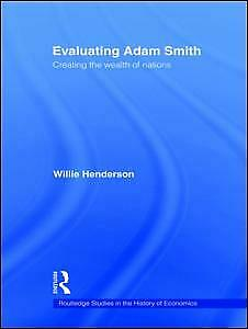 AU86.83 • Buy NEW BOOK Evaluating Adam Smith By William Henderson (2009)