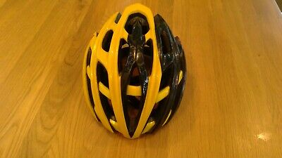Cannondale Cypher Helmet Flanders Yellow/Black Size M - Team 3M Limited Edition • 39£