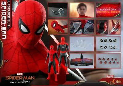 $ CDN420.79 • Buy Hot Toys 1/6 MMS542 Spider-Man Far From Home Upgraded Suit Action Figure Toys