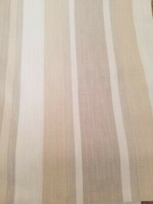 £20 • Buy Laura Ashley Fabric, Awning Stripe Natural, 2.8 Meters, Brand New
