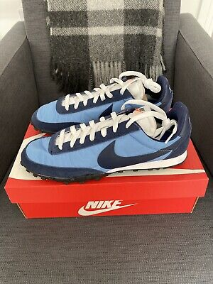Men's Nike Waffle Racer - Light Blue/Midnight Navy - UK 9 • 70£