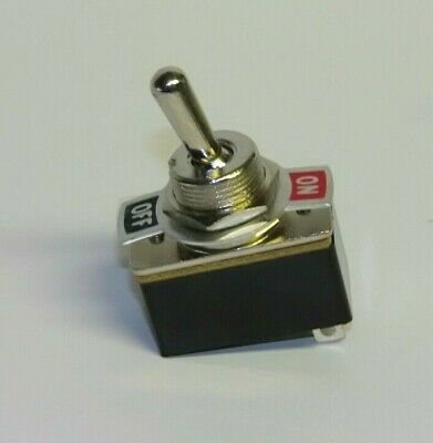 £2.99 • Buy SPST Standard Mains Toggle Switch On-Off 1.5A 250Vac On/off Plate Model Railway